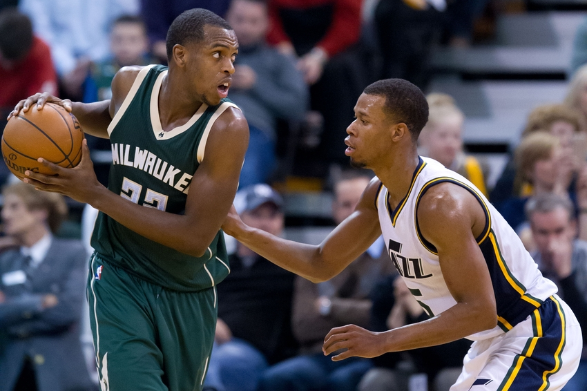 NBA: Milwaukee Bucks at Utah Jazz